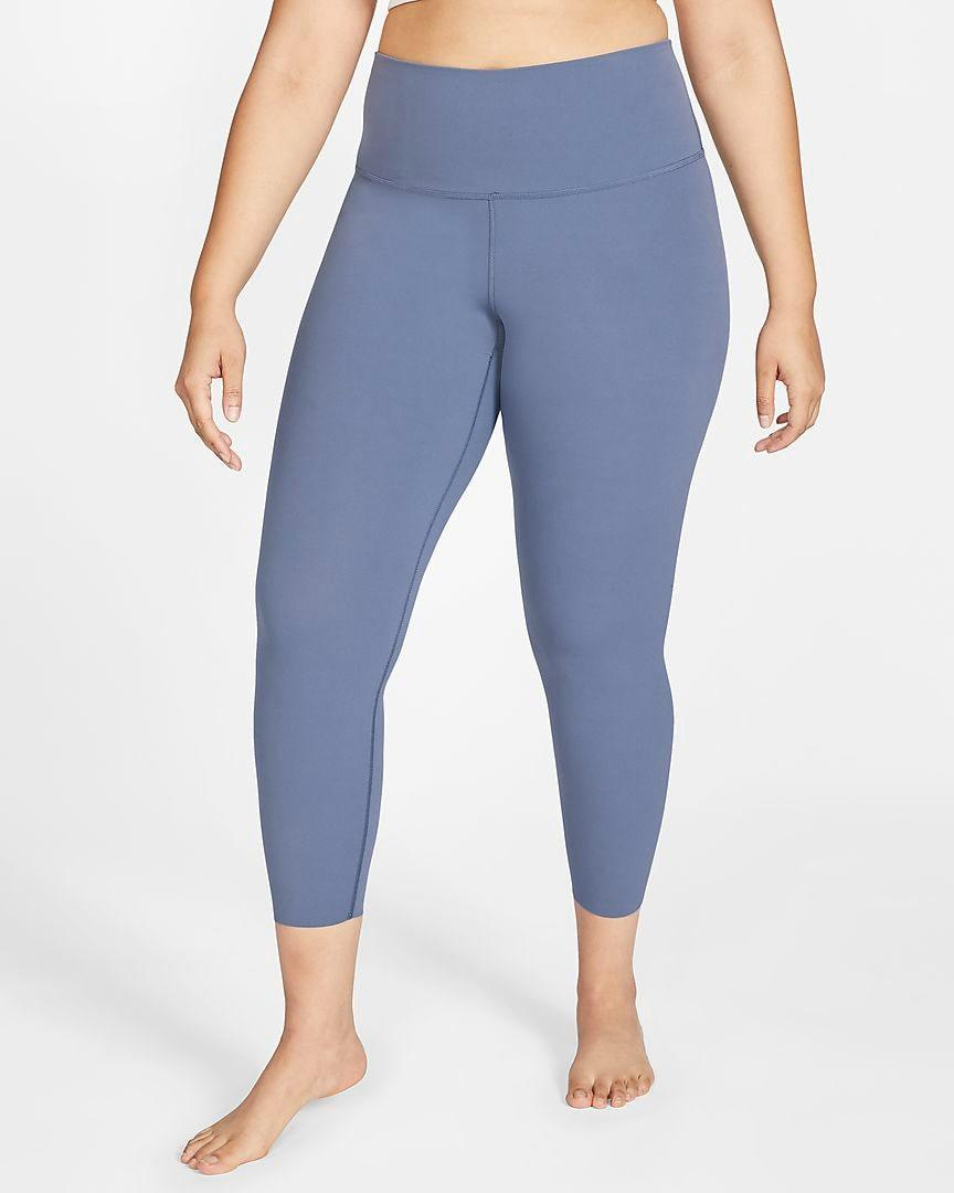 "When in doubt, you can never go wrong with a pair of leggings. And these will move with you through any type of yoga pose. $90, Nike. <a href=""https://www.nike.com/t/yoga-luxe-womens-infinalon-7-8-tights-plus-size-HZ60dK/CT0162-491"" rel=""nofollow noopener"" target=""_blank"" data-ylk=""slk:Get it now!"" class=""link rapid-noclick-resp"">Get it now!</a>"