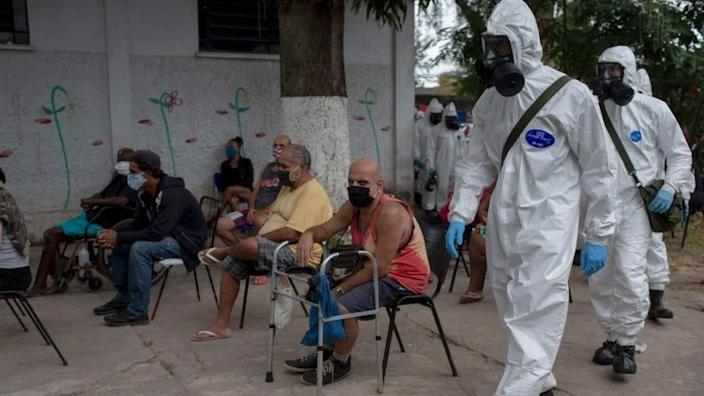 Brazil has for several weeks been at the centre of the coronavirus outbreak in Latin America