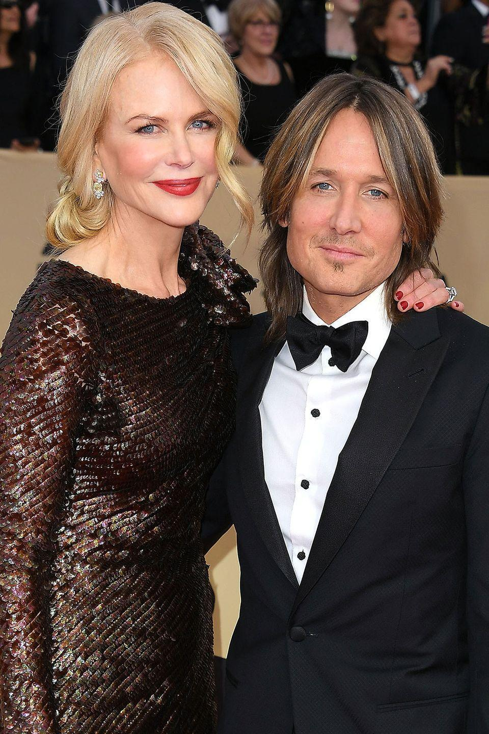 <p>They're both native Aussies and they both have those piercing blue eyes. It's no wonder they command red carpets in Hollywood and Nashville.</p>