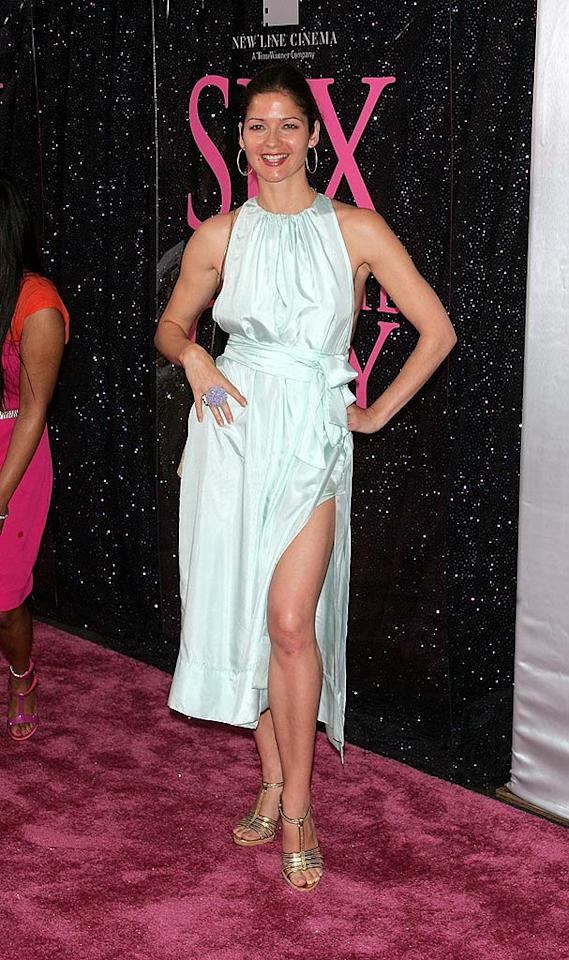 """Jill Hennessy put her best foot (and leg) forward in a revealing halter dress. Jim Spellman/<a href=""""http://www.wireimage.com"""" target=""""new"""">WireImage.com</a> - May 27, 2008"""