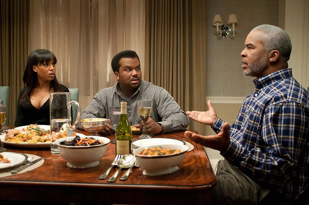 """Kerry Washington, Craig Robinson and David Alan Grier in Lionsgate's """"Peeples"""" - 2013"""