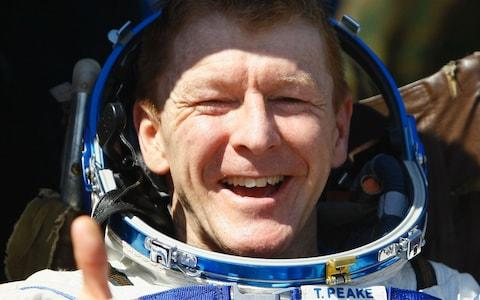 Tim Peake - Credit: AFP