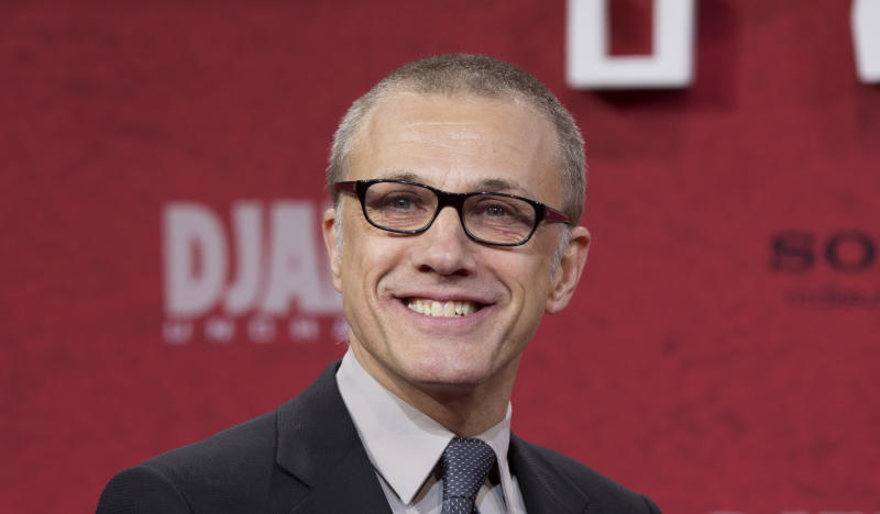 """FILE - In this Jan. 8, 2013 file photo Austrian actor Christoph Waltz arrives for the German premiere of the movie """"Django Unchained"""" in Berlin, Germany. The Cannes Film Festival has announced Wednesday April 24, 2013 the starriest lineup in years for this 2013's competition jury that includes academy award-winners Nicole Kidman, Christopher Waltz and Ang Lee. (AP Photo/Gero Breloer, File)"""