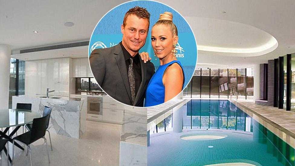 Bec and Lleyton to sell luxury penthouse