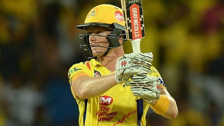 Sam Billings razed KKR down to capture the imagination of the CSK faithful (Image credits: Sky Sports)