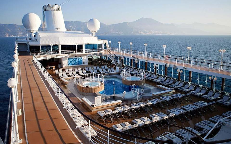 Azamara became renowned for its onboard country-club lifestyle