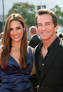 Lisa Ann Russell, Jeff Probst | Photo Credits: Tommaso Boddi/WireImage