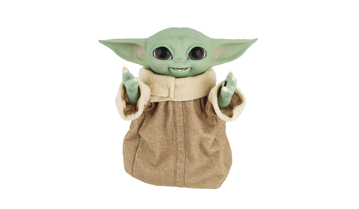 Feed the Force! This animatronic Baby Yoda is one of the hottest toys out there. (Photo: Amazon)