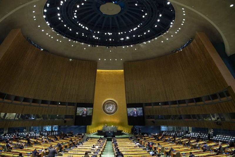 Indian Diplomat Walks Out after Pakistan PM Rakes up Kashmir Issue at UN General Assembly