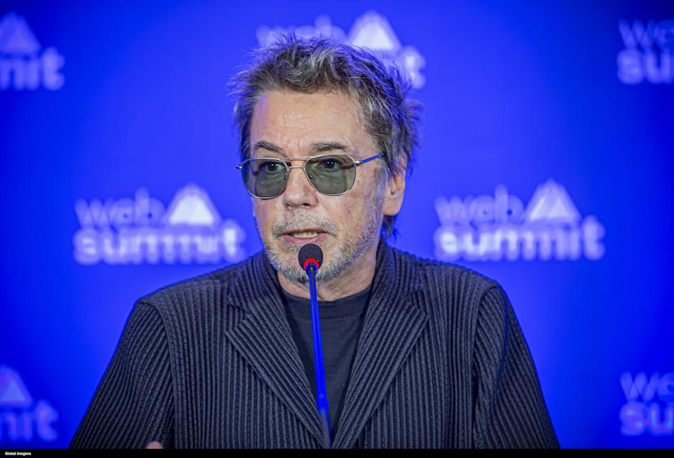 Jean-Michel Jarre's press conference on the fourth day of the 2019 Web Summit in Lisbon. (Reinaldo Rodrigues / Global Images/Sipa USA)