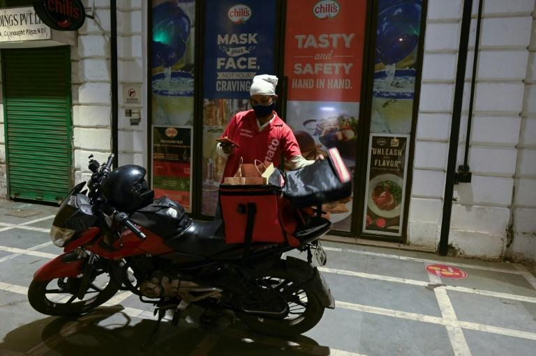Food delivery firms have seen growing demand for their services during the pandemic