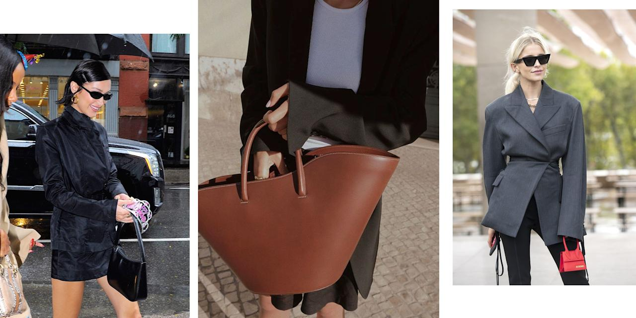 <p>Bags are inherently a utilitarian purchase—and while some 2020 trends are incredibly useful, some are purely for fun. Whether you take your totes giant, or your evening bags micro, your logos large and legible, or your top handle bags just a little pastry-like, it's a fun time in fashion to invest in a new handbag.</p>