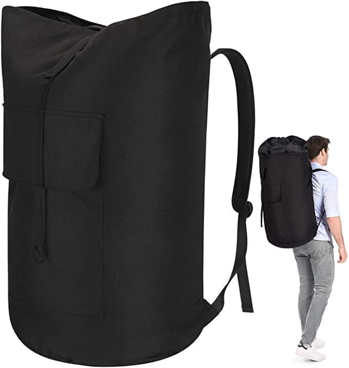 """<h2>Azhido Backpack Laundry Bag<br></h2><br><strong>Best Used For: </strong>Laundromat Luggage<strong><br><br>The Hype: </strong>4.8 out of 5 stars and 17 ratings<strong><br><br>Practical Peeps say: """"</strong>This laundry bag is wonderful! I have to go down 3 flights of stairs and back up with the laundry. Between the knapsack styling and its easy closure, it's not as frightening to carry. I can hold the railing and safely go up and down. I wasn't expecting the quality of the material for the price. It's very sturdy and stands up so you can fill it.<strong>""""</strong><br><br><em>Shop</em> <a href=""""https://amzn.to/3zng0kU"""" rel=""""nofollow noopener"""" target=""""_blank"""" data-ylk=""""slk:Azhido"""" class=""""link rapid-noclick-resp""""><strong><em>Azhido</em></strong></a><br><br><strong>Azhido</strong> Backpack Laundry Bag, $, available at <a href=""""https://amzn.to/3eCrBVd"""" rel=""""nofollow noopener"""" target=""""_blank"""" data-ylk=""""slk:Amazon"""" class=""""link rapid-noclick-resp"""">Amazon</a>"""