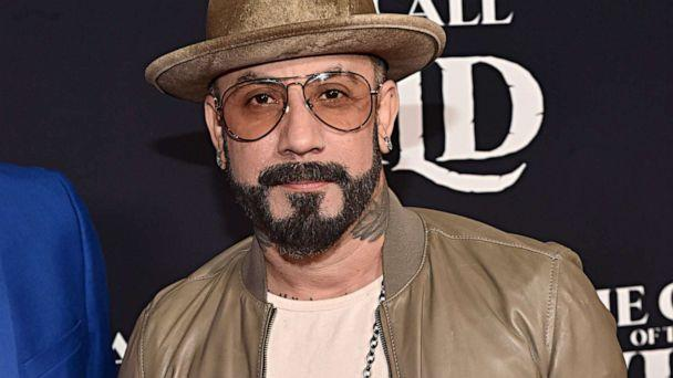 PHOTO: AJ McLean arrives at the World Premiere of 20th Century Studios' 'The Call of the Wild,' Feb. 13, 2020, in Hollywood, Calif. (Alberto E. Rodriguez/Getty Images )