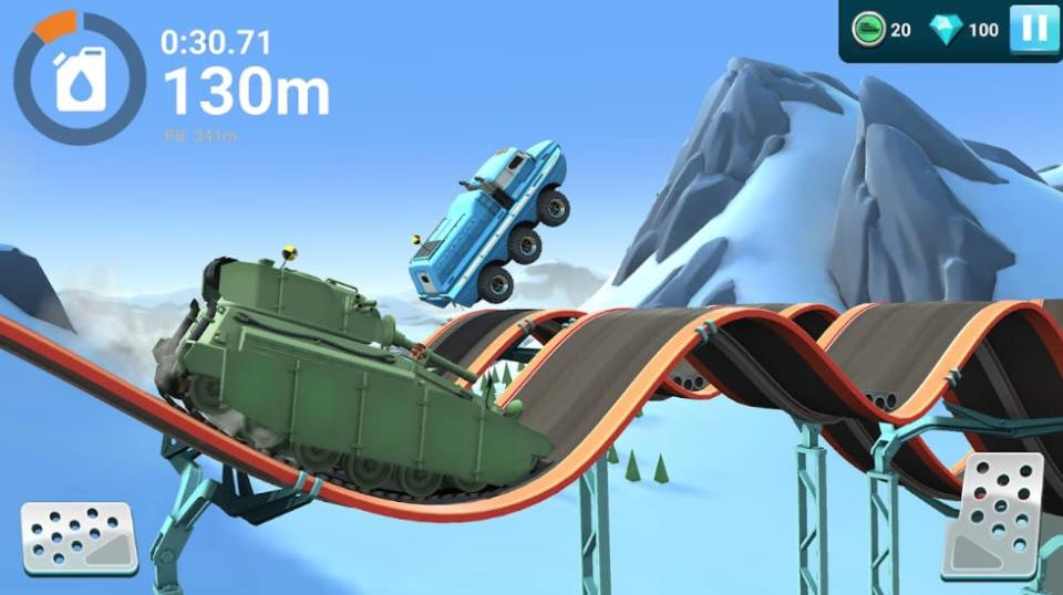 Get ready to blow up a lot in 'MMX Hill Dash 2.'