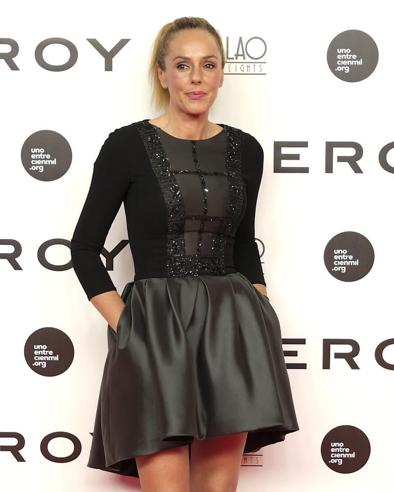 MADRID, SPAIN - SEPTEMBER 19: Rocio Carrasco attends the 'Soy Uno Entre Cien Mil' premiere at Callao cinema on September 19, 2016 in Madrid, Spain. (Photo by Fotonoticias/WireImage)