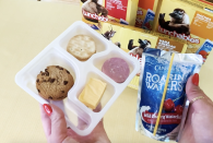 <p>Not only does the cheese have no flavor but the ham isn't salty enough to combat the thick cracker. Also...the cookie was soggy yet stale because it's refrigerated. P.S. Please note this was the Lunchable that convinced me I needed to drink a full glass of red wine to combat this monstrosity. </p>