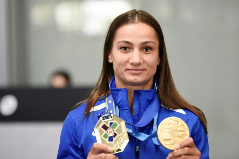 Kosovo's Olympic champion judoka Majlinda Kelmendi added to her medal haul at this year's European Games in Minsk