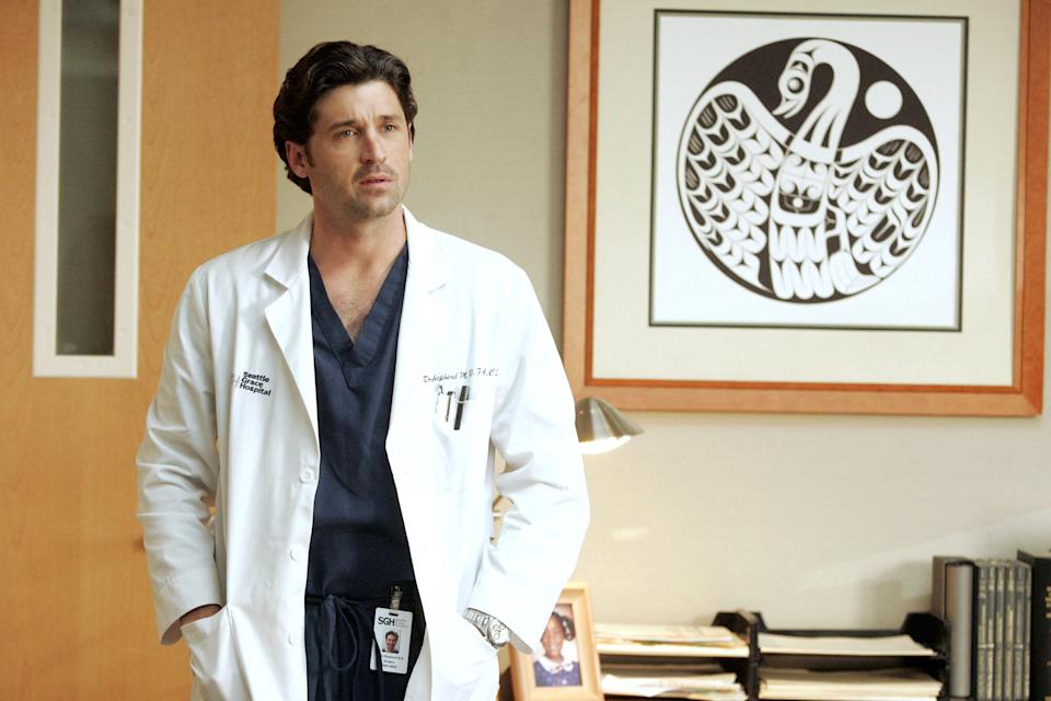 Patrick Dempsey stars in a 2006 episode of