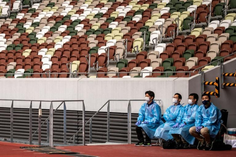 Spectators are banned from virtually all Olympic venues
