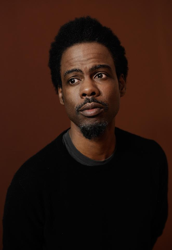 PARK CITY, UT - JANUARY 24:  Actor Chris Rock poses for a portrait during the 2012 Sundance Film Festival at the Getty Images Portrait Studio at T-Mobile Village at the Lift on January 24, 2012 in Park City, Utah.  (Photo by Larry Busacca/Getty Images)