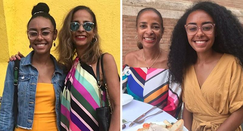 Atlanta mother Marsha Edwards is suspected of murdering her adult daughter Erin Edwards (pictured) and son, days after sharing Instagram holiday pictures from Italy.
