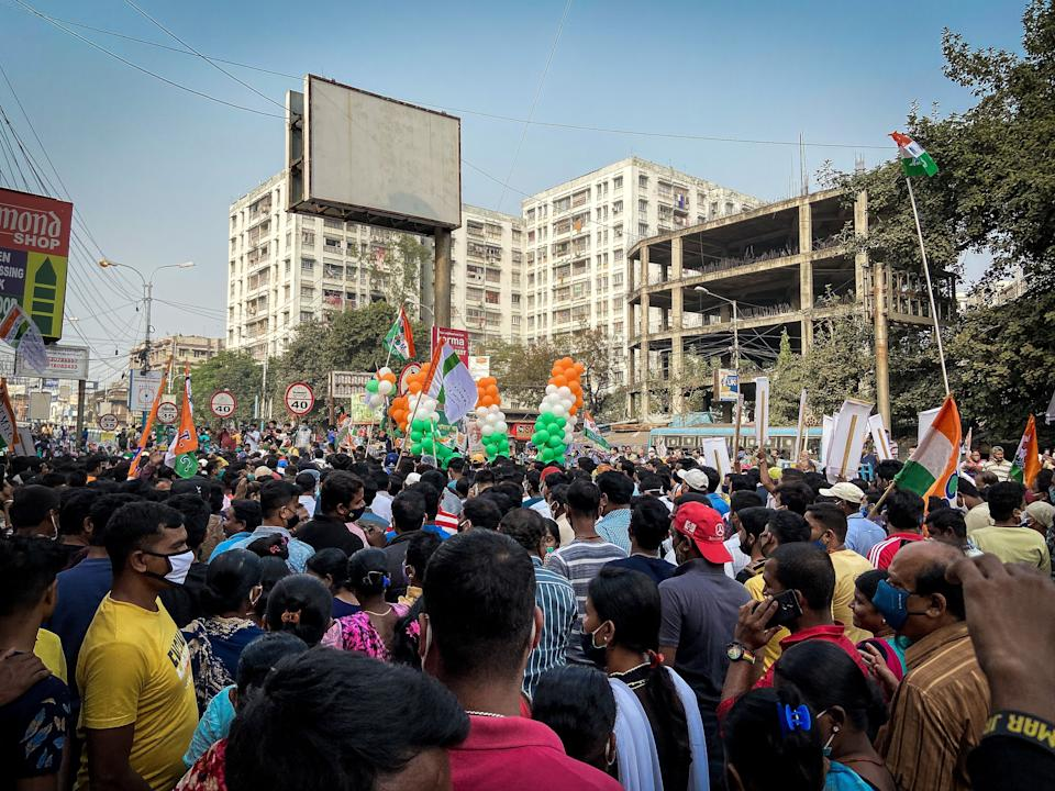 TMC's rally outdid BJP's in terms of attendance