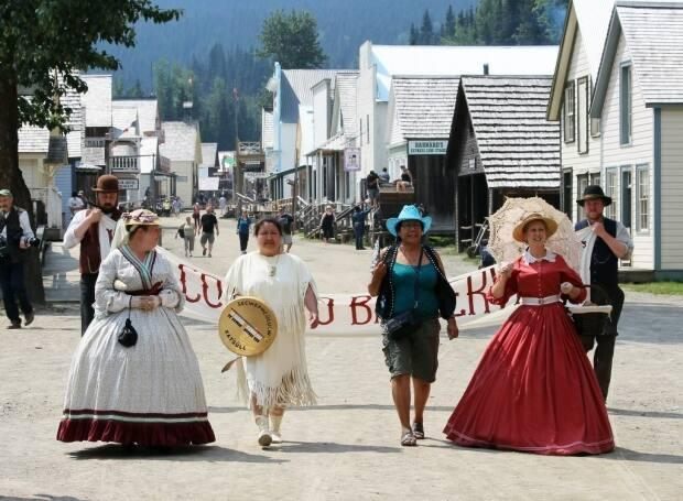 Barkerville Historic Town & Park is located on the western edge of the Cariboo Mountains, about 80 kilometres east of Quesnel, B.C.