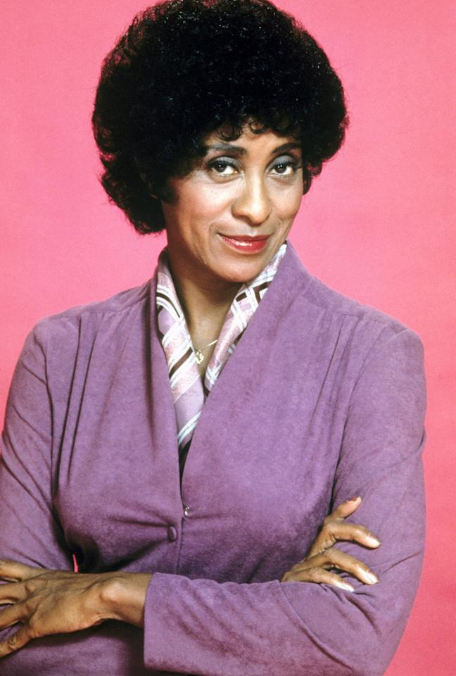 "<b>Marla Gibbs</b> as Florence Johnston, ""The Jeffersons"" (1975-1985)<br><br>Outstanding Supporting Actress in a Comedy Series<br><br>0 wins, 5 consecutive nominations (1981-1985)"