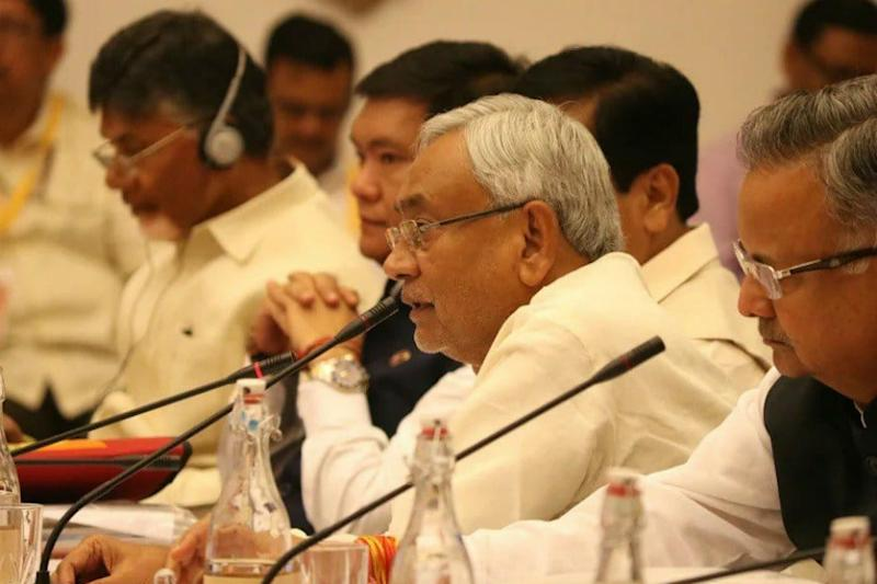 In Sync With Chandrababu, Nitish Kumar Keeps His Own Special Status Demand Before NITI Aayog