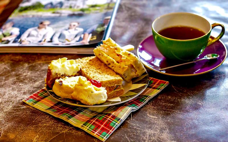 A selection of sandwiches and sweets are offered during afternoon tea. | Talia Avakian