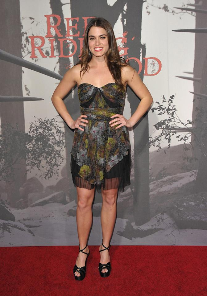 """<a href=""""http://movies.yahoo.com/movie/contributor/1808459018"""">Nikki Reed</a> at the Los Angeles premiere of <a href=""""http://movies.yahoo.com/movie/1810157569/info"""">Red Riding Hood</a> on March 7, 2011."""