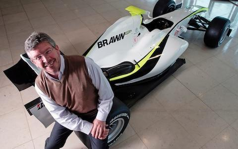 <span>Ross Brawn is one of many motorsport greats who is a patron of the charity</span> <span>Credit: John Robertson </span>