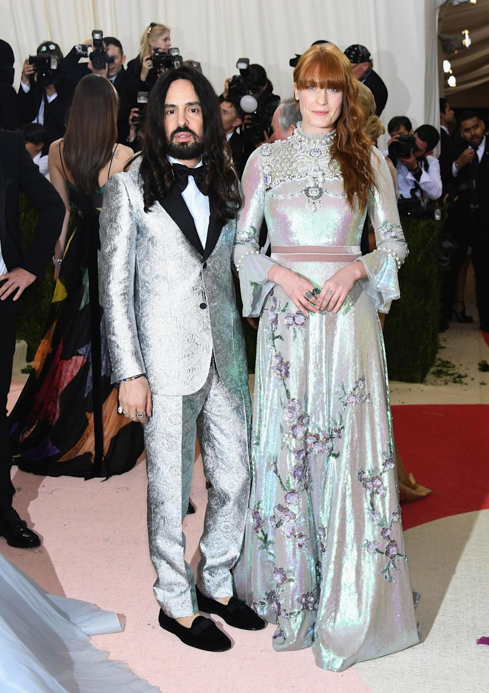 """<h1 class=""""title"""">Alessandro Michele and Florence Welch, both in Gucci</h1> <cite class=""""credit"""">Photo: Getty Images</cite>"""