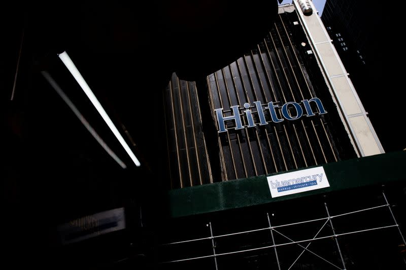 Hilton sees demand rebounding to pre-COVID levels by 2022