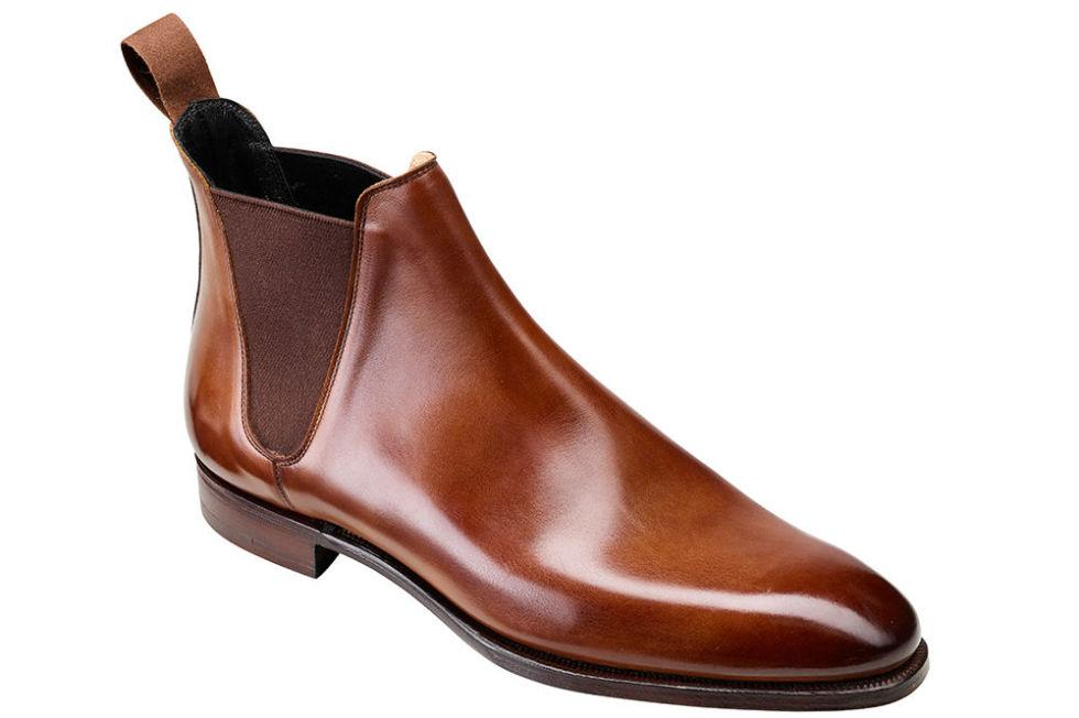 """<p>Winter calls for hardier footwear, and nobody makes shoes as durable, luxurious and downright beautiful as family-owned Crockett & Jones, currently celebrating its 20<sup>th</sup> year on London's Jermyn Street. Behold these Chelsea boots: made from the finest tan antique calf skins in the world, finely hand polished and the perfect addition to your new season wardrobe.<em> </em></p><p><em><a rel=""""nofollow"""" href=""""https://www.crockettandjones.com/collections/mens/anniversary-collection/chelsea-20-years-on-jermyn-street/"""">£570</a></em></p>"""