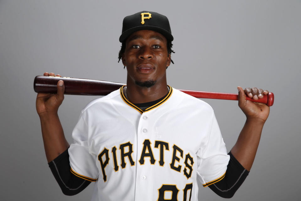 Gift Ngoepe is about to be the first African born player in MLB history. (AP)