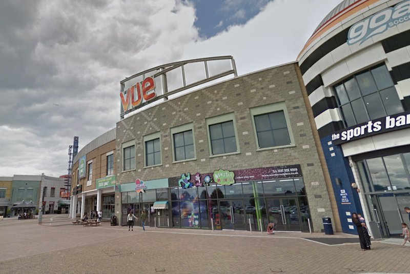 Cinema: The incident happened at the Vue in Birmingham