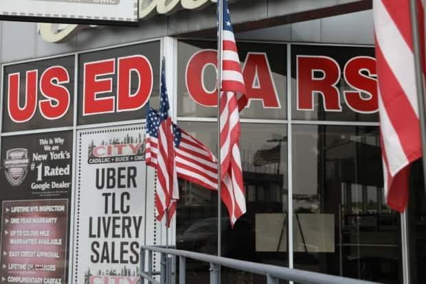 Prices for used cars have skyrocketed during the pandemic because automakers can't find enough components to make new ones. (Bess Adler/Bloomberg - image credit)