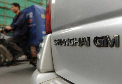 General Motors says its China sales for the first half of this year reached a record 1.42 million vehicles