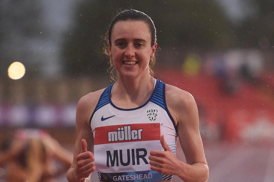 Laura Muir is only focusing on the 1500m at the Tokyo Olympics (AFP via Getty Images)