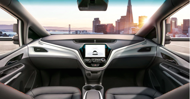 No steering wheel? No problem. GM seeks approval for latest self-driving car