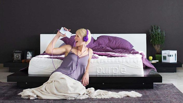 The Purple is an unusual and exceptional mattress, perfect for unusual and exceptional people.