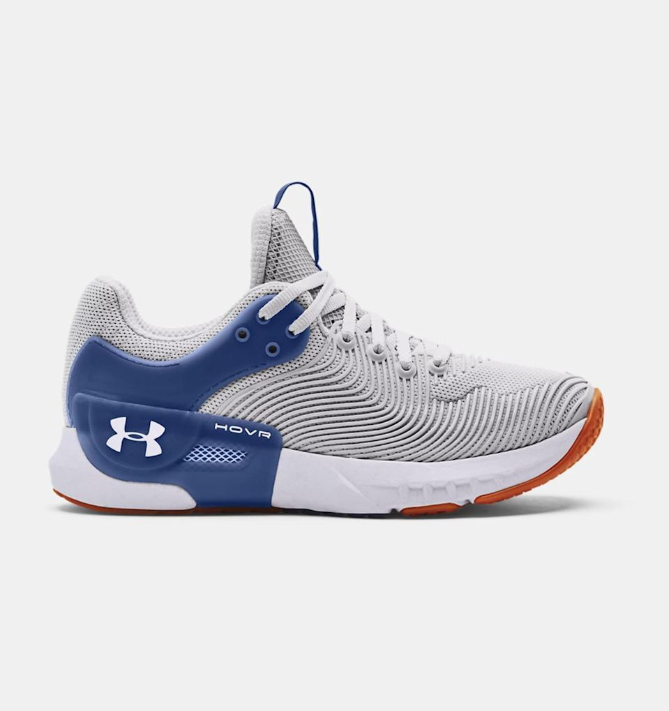 <p>If you like taking Zumba, kickboxing, or any footwork-centric classes, these <span>UA HOVR Apex 2 Gloss Training Shoes</span> ($140) are the pair for you. Because of their durable layering system, these shoes support your natural agility whether you're on your toes or heels, or going backwards, forwards, or side to side.</p>