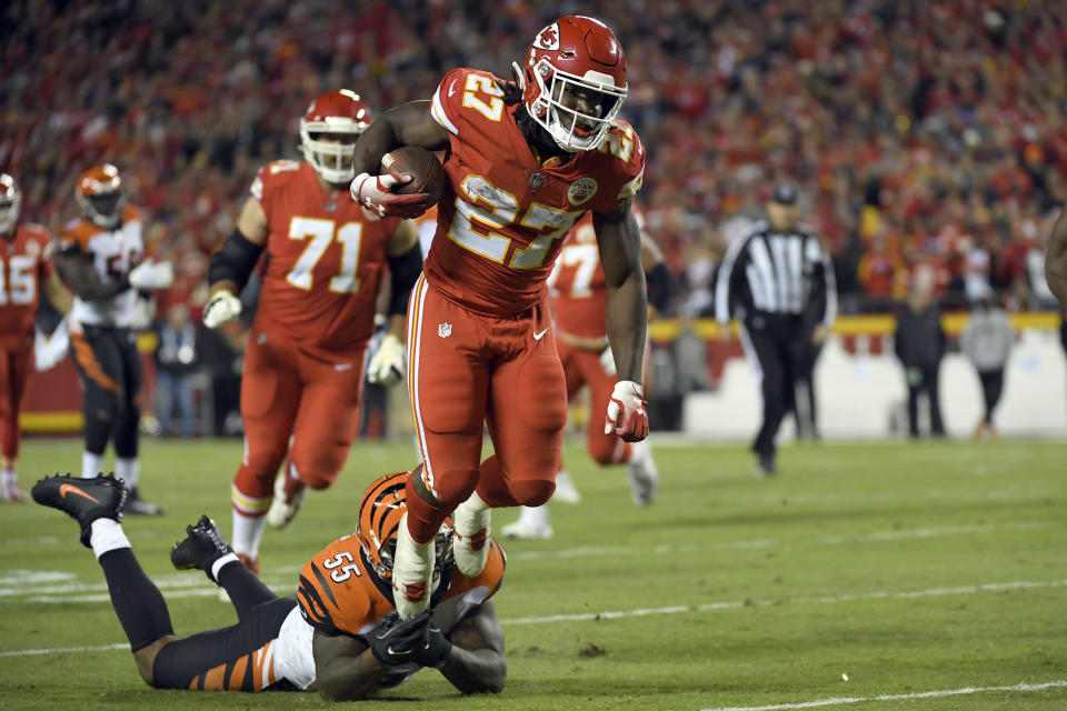 Plenty of questions have emerged in the aftermath of Kareem Hunt's release. (AP Photo)