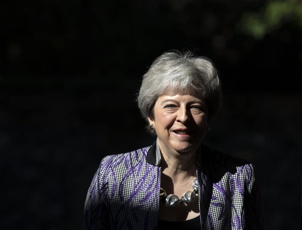Theresa May. Photo: Steve Parsons/PA Wire/PA Images