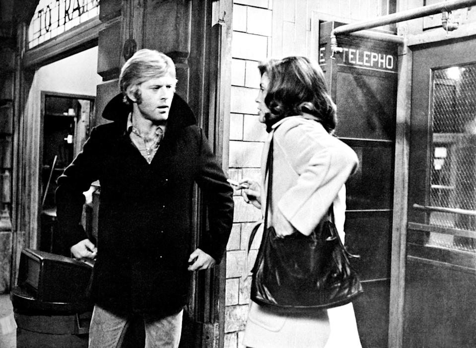 """<p>Imagine walking into your office only to find that all of your coworkers have been killed. Robert Redford (Turner) has to face exactly that in this 1970s film. After he realizes CIA higher-ups are behind the murders, he has no one left to trust and is forced to figure out how to survive even though there's a hit man trying to kill him.</p> <p><a href=""""https://www.amazon.com/Three-Days-Condor-Robert-Redford/dp/B0036FYO12"""" rel=""""nofollow noopener"""" target=""""_blank"""" data-ylk=""""slk:Available to rent on Amazon Prime Video"""" class=""""link rapid-noclick-resp""""><em>Available to rent on Amazon Prime Video</em></a></p>"""