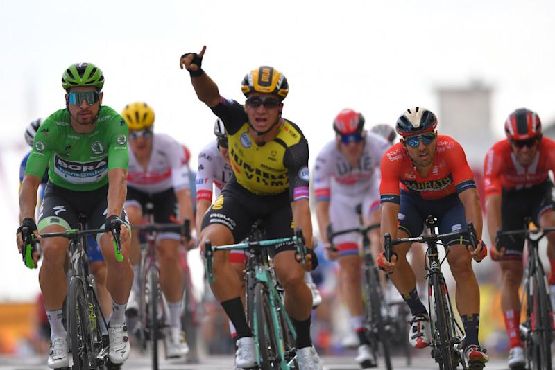 Dylan Groenewegen Tour de France win