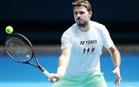 <span>Wawrinka pulled out of the Tiebreak Tens competition</span> <span>Credit: Getty Images </span>