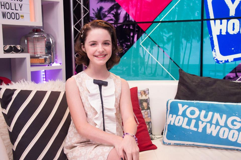 """<p>For Grace, her dreams of being on the big screen have pretty much always been a part of her. """"<a href=""""http://collider.com/the-bad-seed-mckenna-grace-interview/"""" class=""""link rapid-noclick-resp"""" rel=""""nofollow noopener"""" target=""""_blank"""" data-ylk=""""slk:I wanted to be like Shirley Temple"""">I wanted to be like Shirley Temple</a>. I'd seen all of the Shirley Temple movies, and I wanted to be one of those kids on the Pee-wee Herman Show,"""" she told Collider in 2018. </p> <p>Still, she later revealed, she values the """"normal"""" kid stuff just as much as getting to play superheroes and shoot big movies. """"I'm always having fun. Whenever I get time off and I get to go back to L.A., my dad and I hang out. We just recently got a chess board, so we've been playing chess a lot. We watch scary movies together. Well, not my mom because she gets scared. We just play and hang out. I get to see my friends. When I'm working, my best friend and I call each other on FaceTime. I play with stuffed animals, all the time. My parents say that, even though I'm working in a grown up world, it's important to stay myself.""""</p>"""